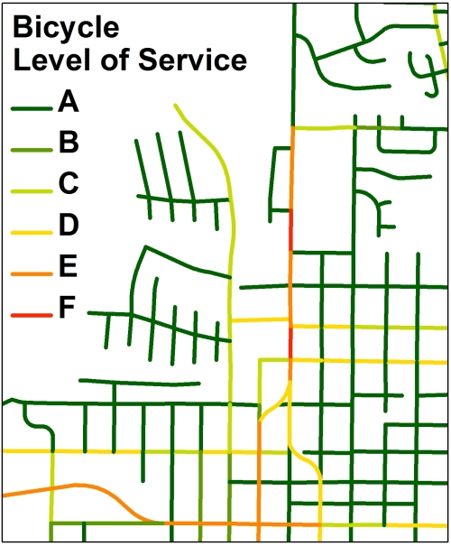 Bicycle Level of Service GIS Toolbox